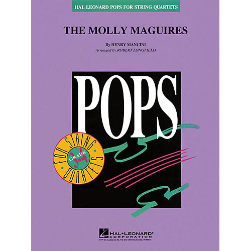 Hal Leonard The Molly Maguires Pops For String Quartet Series Arranged by Robert Longfield