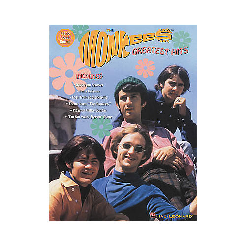 Hal Leonard The Monkees Greatest Hits Piano/Vocal/Guitar Artist Songbook