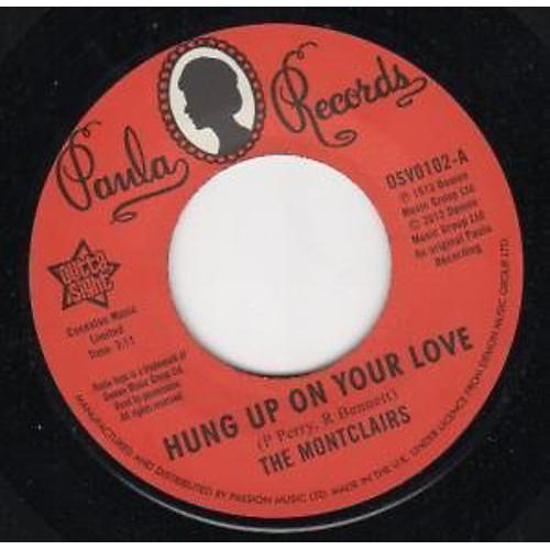 Alliance The Montclairs - Hung Up on Your Love/I Need You More Than Ever