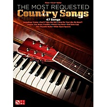 Hal Leonard The Most Requested Country Songs Piano/Vocal/Guitar Songbook
