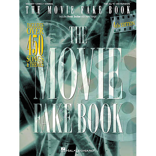 Hal Leonard The Movie Fake Book 4th Edition