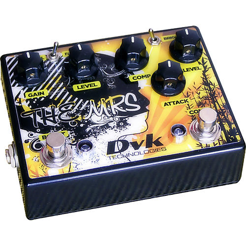 DVK The Mrs. Compressor and Boost Guitar Effects Pedal