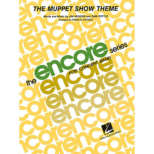 Hal Leonard The Muppet Show Theme - Young Concert Band Level 3 arranged by Frank Cofield