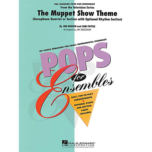 Hal Leonard The Muppet Show Theme Concert Band Level 2-3 Arranged by Jay Bocook