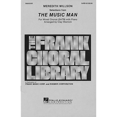 Hal Leonard The Music Man (Medley) SATB arranged by Clay Warnick