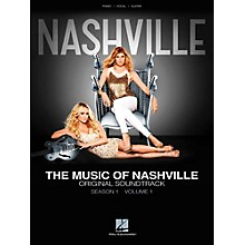 Hal Leonard The Music Of Nashville Season 1, Volume 1 for Piano/Vocal/Guitar