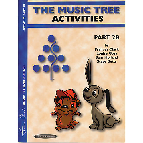 Alfred The Music Tree Activities Book Part 2B