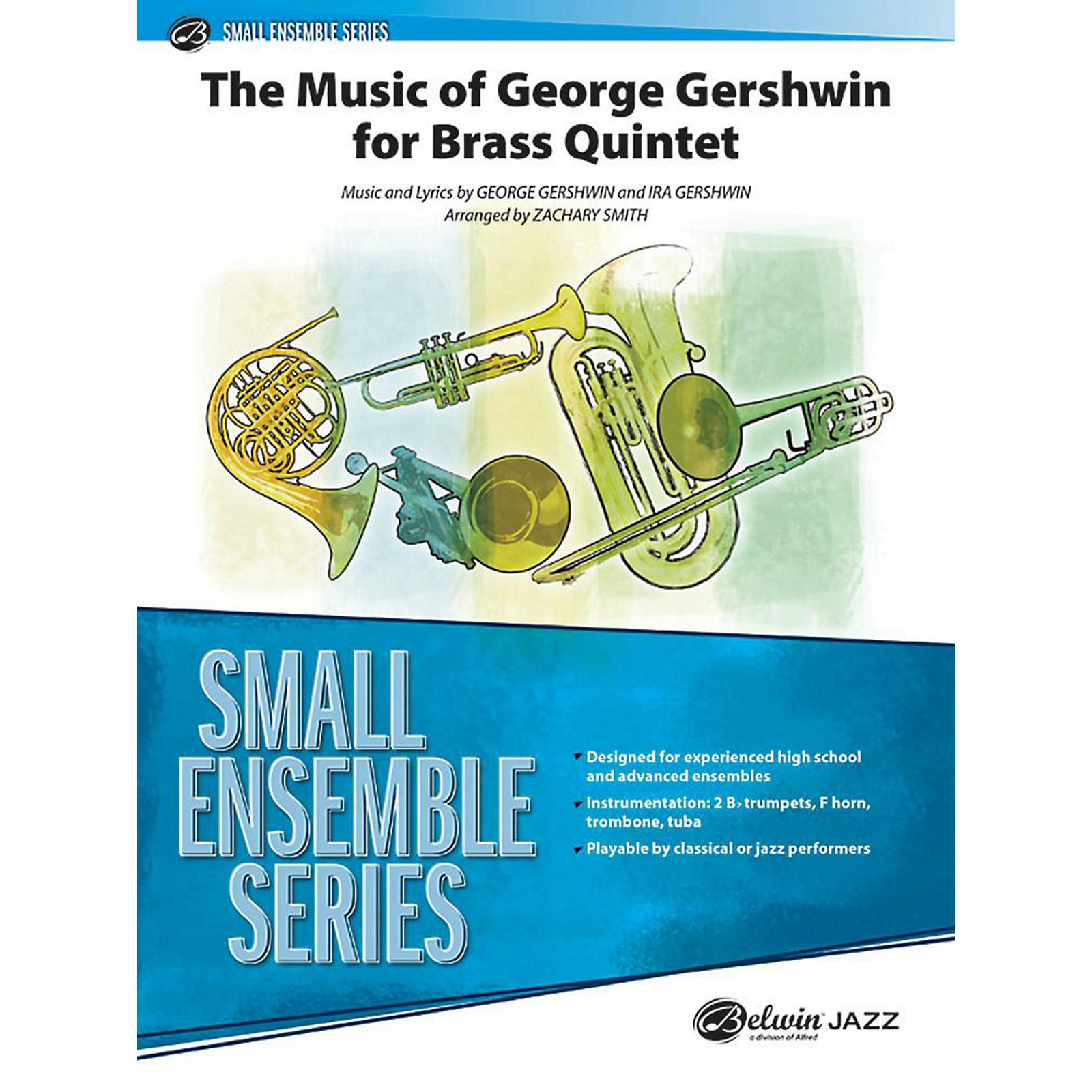 Alfred The Music of George Gershwin for Brass Quintet Concert Band Grade 3 Set
