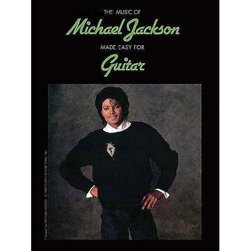Alfred The Music of Michael Jackson Made Easy for Guitar Easy Guitar Series Softcover by Michael Jackson