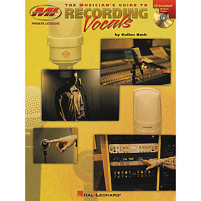 Musicians Institute The Musician's Guide to Recording Vocals (Book/CD)