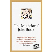 Omnibus The Musician's Joke Book Omnibus Press Series Softcover Written by Jim Green
