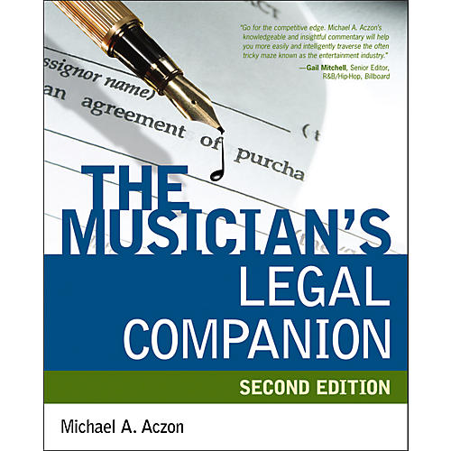 Alfred The Musician's Legal Companion (2nd Edition) Book