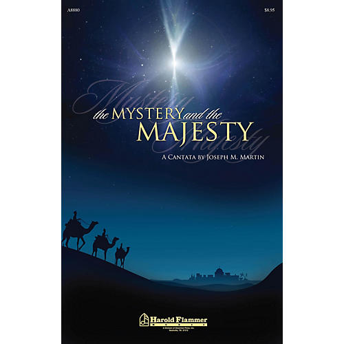Shawnee Press The Mystery and the Majesty ORCHESTRATION ON CD-ROM Composed by Joseph M. Martin