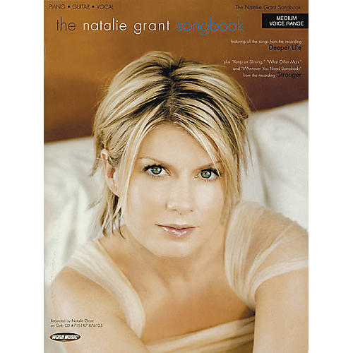 Word Music The Natalie Grant Songbook Piano, Vocal, Guitar Songbook