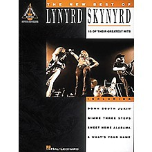 Hal Leonard The New Best Of Lynyrd Skynyrd Guitar Tab Songbook
