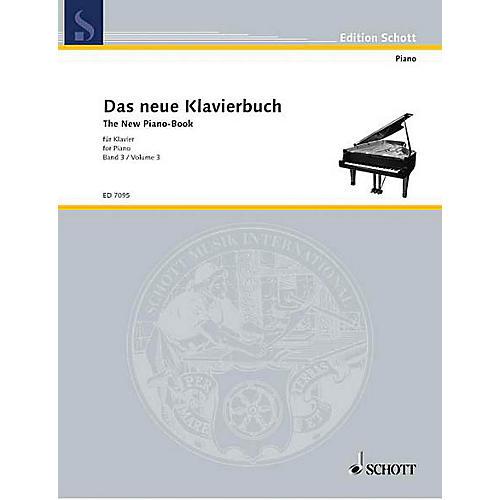 Schott The New Piano Book - Vol. 3 Schott Series