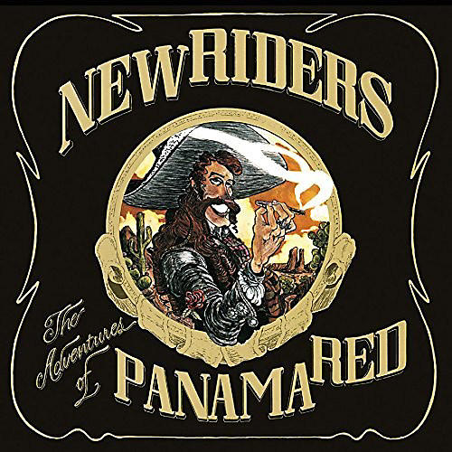 Alliance The New Riders of the Purple Sage - The Adventures Of Panama Red [Color Disc]