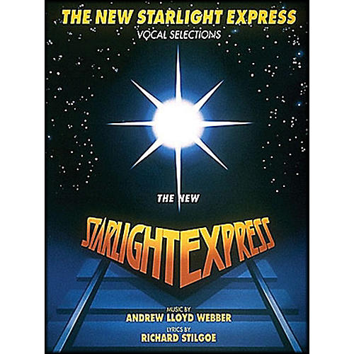 Hal Leonard The New Starlight Express arranged for piano, vocal, and guitar (P/V/G)