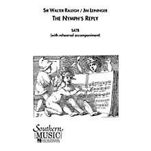 Hal Leonard The Nymph's Reply (Choral Music/Octavo Secular Satb) SATB Composed by Leininger, Jim