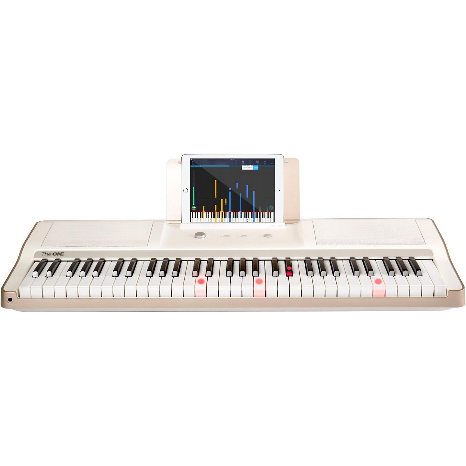 The ONE Music Group The ONE Smart Piano 61-Key Portable Keyboard