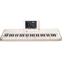 The ONE Smart Piano 61-Key Portable Keyboard White