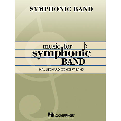 Hal Leonard The Official West Point March Concert Band Level 4 Composed by Philip H. Egner