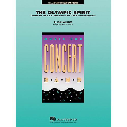 Hal Leonard The Olympic Spirit Concert Band Level 4 Arranged by James Curnow