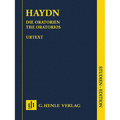 G. Henle Verlag The Oratorios Henle Study Scores Series Hardcover Composed by Joseph Haydn Edited by Armin Raab