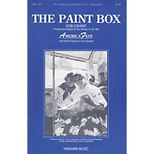 Hinshaw Music The Paint Box SSA arranged by Ben Allaway