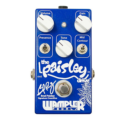 Wampler The Paisley Drive Signature Overdrive Guitar Effects Pedal