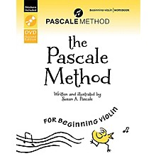 Alfred The Pascale Method for Beginning Violin Workbook, DVD, and Stickers (2nd Edition)