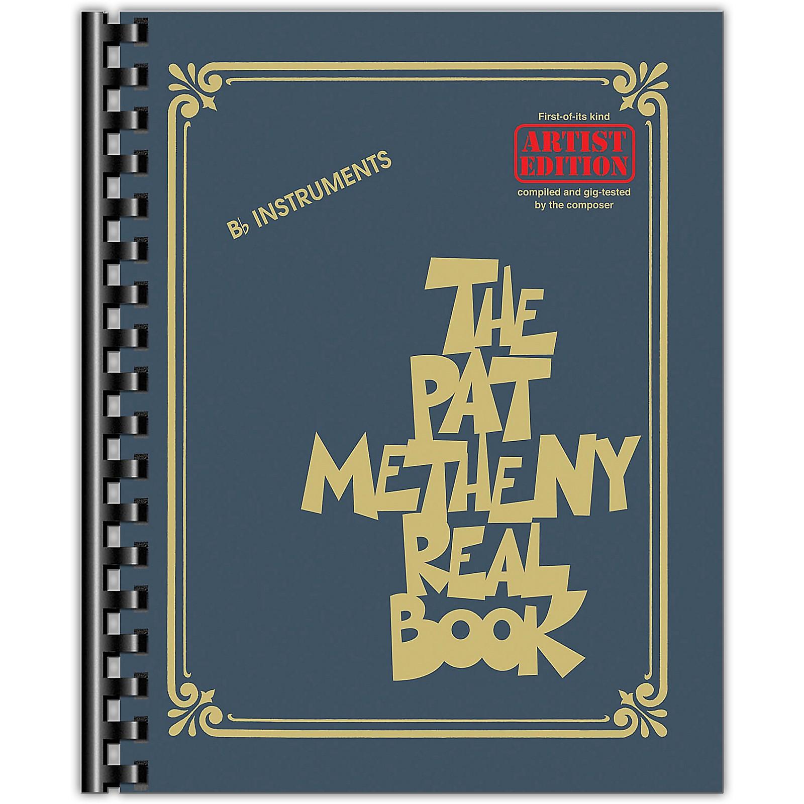 Hal Leonard The Pat Metheny Real Book (Artist Edition B-Flat Instruments) Fake Book