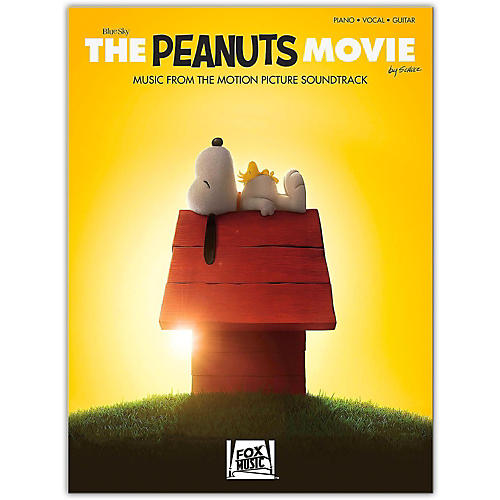 Hal Leonard The Peanuts Movie - Music from the Motion Picture Soundtrack  Piano/Vocal/Guitar Songbook