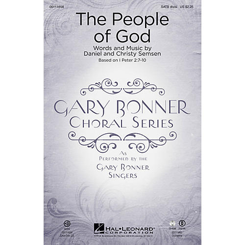 Hal Leonard The People of God (Gary Bonner Choral Series) CHOIRTRAX CD Composed by Daniel Semsen