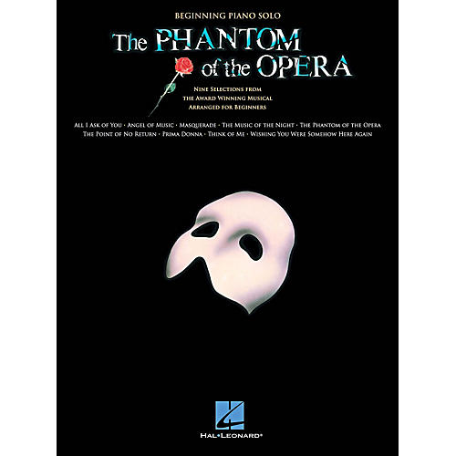 Hal Leonard The Phantom Of The Opera - Beginning Piano Solo Songbook