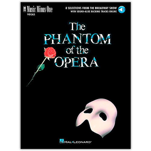 Music Minus One The Phantom of the Opera Music Minus One Vocal Book/Audio Online