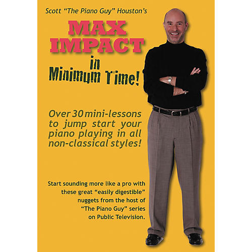 Hal Leonard The Piano Guy Max Impact In Minimum Time DVD
