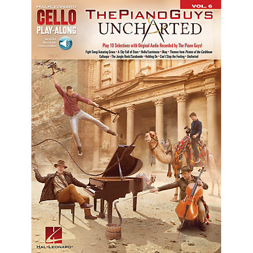Hal Leonard The Piano Guys - Uncharted Cello Play-Along Series Softcover Audio Online Performed by The Piano Guys