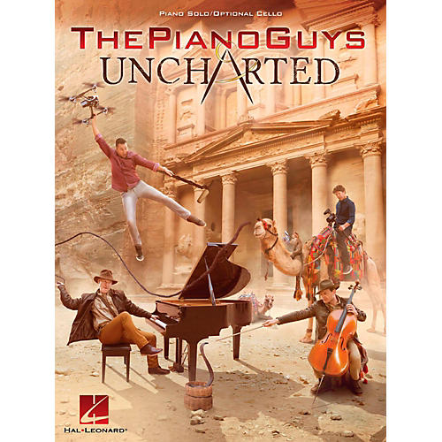 Hal Leonard The Piano Guys - Uncharted Piano Solo/Optional Cello