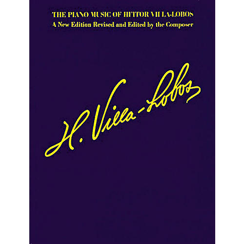 Music Sales The Piano Music of Heitor Villa-Lobos (Music for Millions Series) Music Sales America Series Softcover