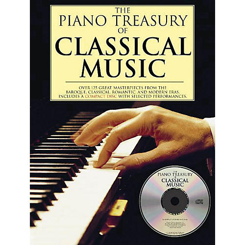 Music Sales The Piano Treasury of Classical Music Music Sales America Series Softcover with CD