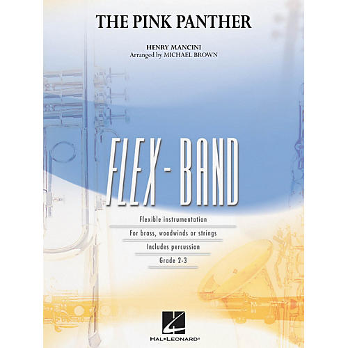Hal Leonard The Pink Panther Concert Band Level 2-3 Arranged by Michael Brown