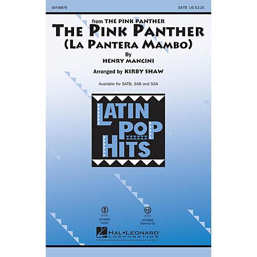 Hal Leonard The Pink Panther (La Pantera Mambo) SSA Arranged by Kirby Shaw