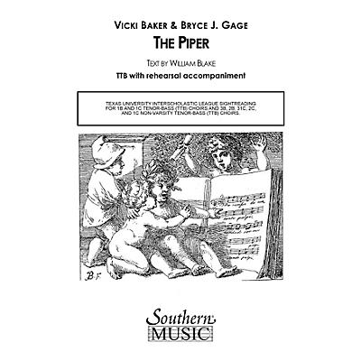 Hal Leonard The Piper (Choral Music/Octavo Sacred Ttb) TTB Composed by Baker & Gage