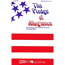 Edward B. Marks Music Company The Pledge of Allegiance SATB composed by Francis Bellamy