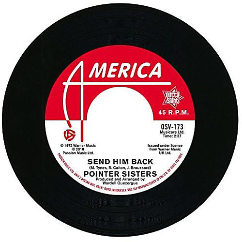 Alliance The Pointer Sisters - Send Him Back / You Got To Pay Your Dues