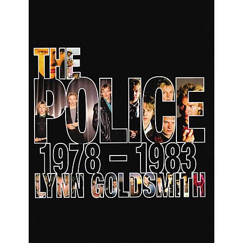 Hal Leonard The Police 1978-1983 hard cover book by Lynn Goldsmith