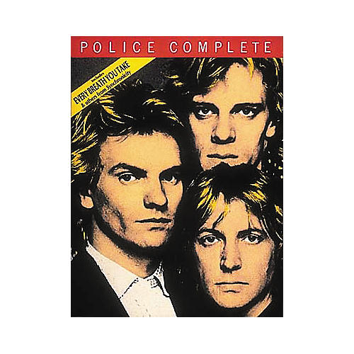 Hal Leonard The Police Complete Songbook