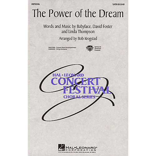 Hal Leonard The Power of the Dream 2-Part Arranged by Bob Krogstad