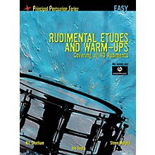 Hal Leonard The Principal Percussion Series Easy Level - Rudimental Etudes and Warm-Ups Covering All 40 Rudiments